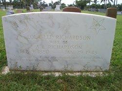 Lola Lee Richardson