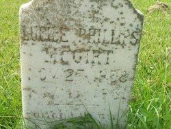 Lucile <I>Phillips</I> McGirt