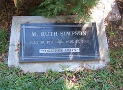 Maude Ruth Simpson