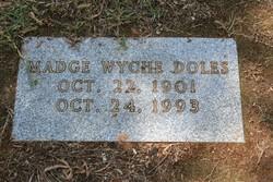 Madge Wyche Doles