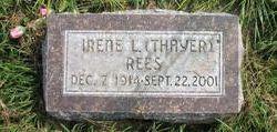 Irene L <I>Thayer</I> Rees