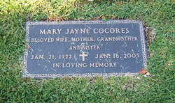 Mary Jayne Cocores