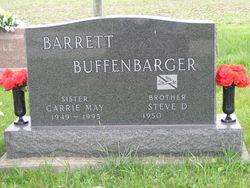 Carrie May <I>Buffenbarger</I> Barrett
