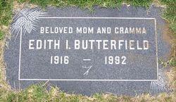 Edith Irene <I>Shields</I> Butterfield
