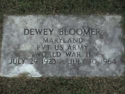 Pvt Dewey Bloomer