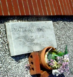 Mattie Lou Clackum