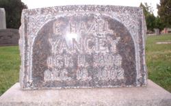 "Elizabeth Hazel ""Hazel"" Yancey"