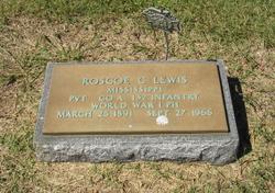 Pvt Roscoe Compton Lewis, Sr