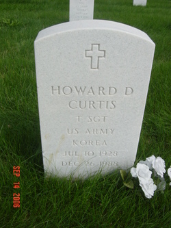 Howard D Curtis