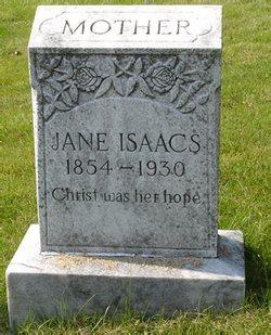 Rebecca Jane <I>Gabbard</I> Isaacs