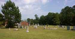 Collins Creek Baptist Church Cemetery