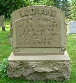 Sarah A <I>Wilson</I> Leonard