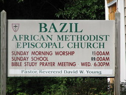 Bazil African Methodist Episcopal Church Cemetery