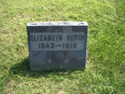 Elizabeth <I>Blevins</I> Herin