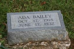 Ada May Bailey