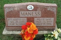 Rev Robert Lee Maness