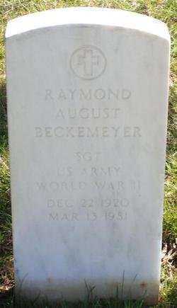 Raymond August Beckemeyer