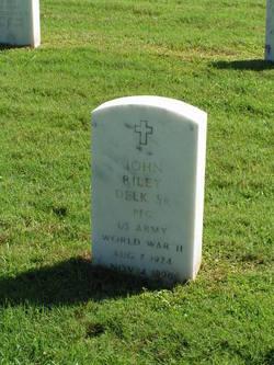 John Riley Delk, Sr