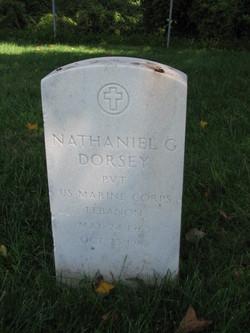 "PFC Nathaniel G. ""Nate"" Dorsey"