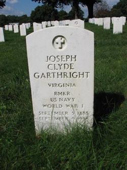 Joseph Clyde Garthright