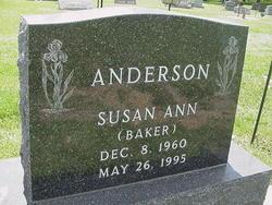 Susan Ann <I>Baker</I> Anderson