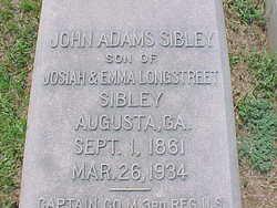 John Adams Sibley