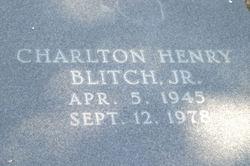 Charlton Henry Blitch, Jr