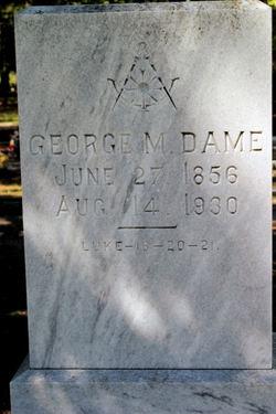 George Melancthon Dame