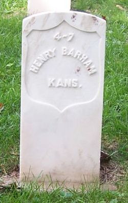 Pvt Henry Barham