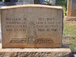 William W Campbell