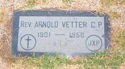 Rev Arnold Vetter