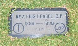 Rev Pius Arthur Leabel