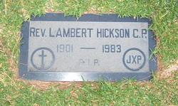 Rev Lambert James Hickson
