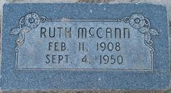 Ruth McCann (1908-1950) - Find A Grave Memorial