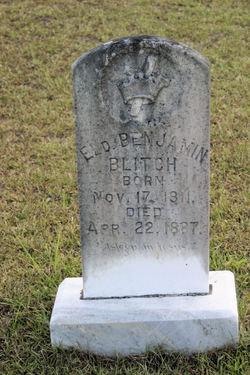 Rev Benjamin Blitch, Jr