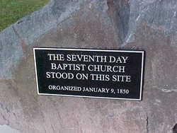 Seventh Day Baptist Cemetery