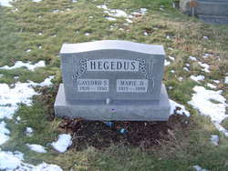 Marie D. <I>Fedoush</I> Hegedus