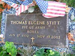 PFC Thomas Eugene Stitt