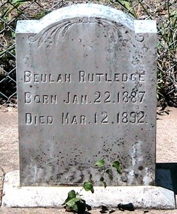 Beulah Lucy Rutledge
