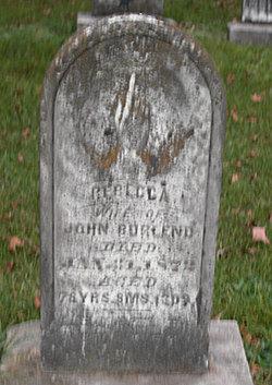 Rebecca <I>Burton</I> Burlend