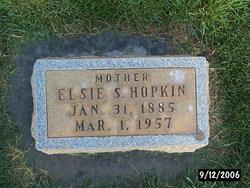 Elsie Albertina <I>Shumway</I> Hopkin