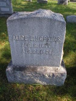 Alice E. <I>Wood</I> Hopkins