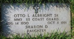 Otto L Albright, Sr