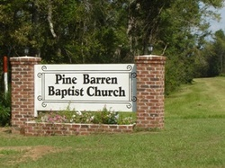 Big Pine Barren Baptist Church Cemetery