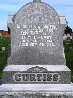 Lucy <I>Judson</I> Curtiss