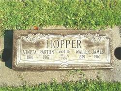 Vineta Margaret <I>Parton</I> Hopper
