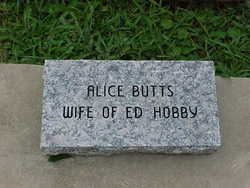 Alice Butts Hobby