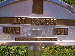 Art Whitney Lowder