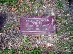 "Wallis Wofford ""Wallace"" White"