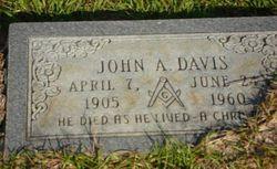John A Davis
